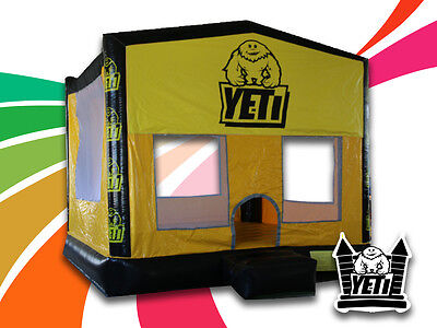Brand New Commercial Quality Yeti Jumping Castle - 4m x 4m x 4m