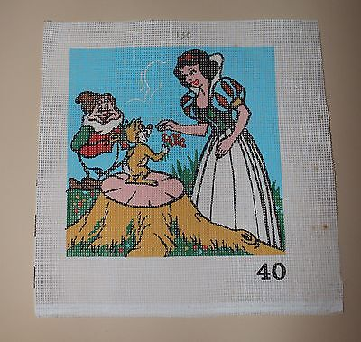 Diamant Disney Needlepoint Design Hand Printed Canvas 215 mm x 215 mm