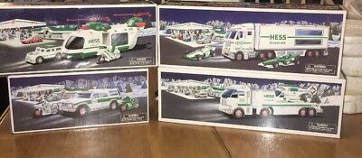 Hess Trucks in New Original Boxes 2001, 2003, 2004 and 2006!! Helicopter, SUV!