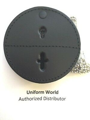 Universal Round Badge Holder Police, Sheriff, Marshall, Security