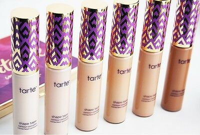 Tarte Shape Tape concealer makeup dark circle coverage 10ml fair light medium