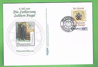 PriPo LVZ Leipzig, FDC Luther, Lutherrose
