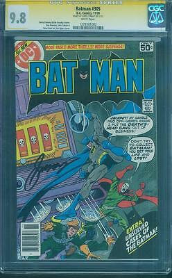 Batman 305 CGC SS 9.8 Gerry Conway Signed Deaths Head Gang Classic 1978 WP Top 1