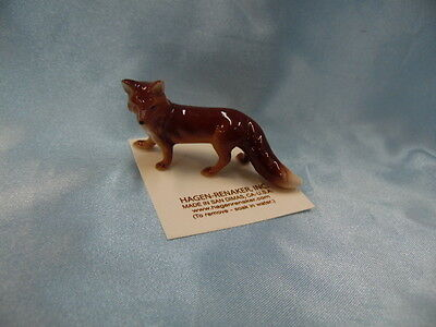 Hagen Renaker Mama Fox Figurine Miniature  FREE SHIPPING New
