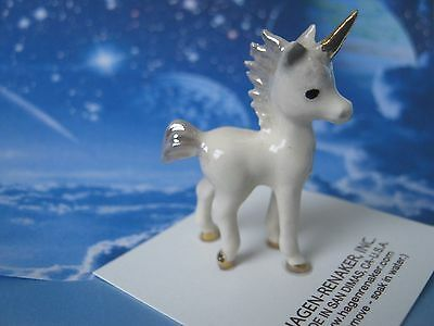 Hagen Renaker New Unicorn Baby Ceramic Figurine Miniature 03210 FREE SHIP