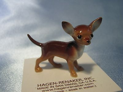 Hagen Renaker Dog Mama Chihuahua Brown Figurine Miniature 035 FREE SHIPPING