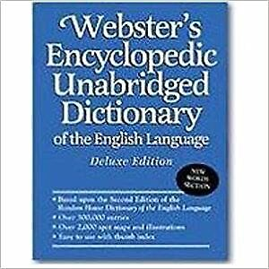 Websters Encyclopedic Unabridged Dictionary Of The English Language Deluxe Editi