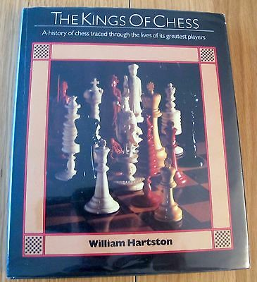 Hartston, William R. The Kings of Chess Hardback Book  (1st Edition)