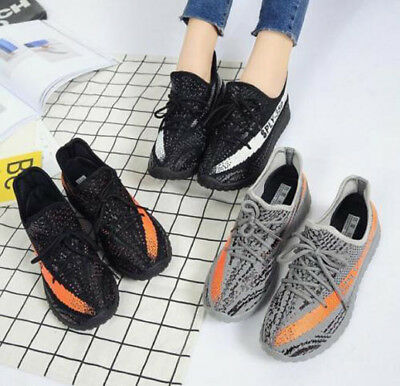 Sports Mens Yeeezy 350 Boost Trainers Fitness Gym Sports Running Shock Shoes