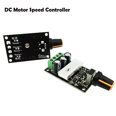 DC6V/12V/24V/28V 3A PWM Motor Speed Controller Potentiometer Switch Variable