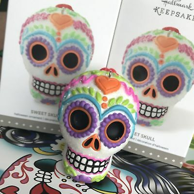 Hallmark Keepsake Halloween Ornament Sweet Skull Dia de los Muertos Day Dead