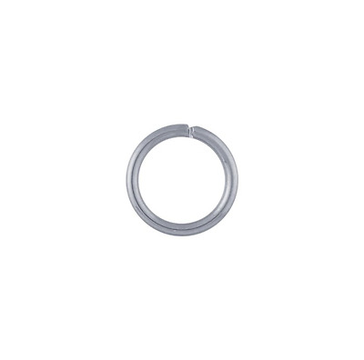 Stainless Steel 6mm Round Jump Ring. Sold per pkg of 144.
