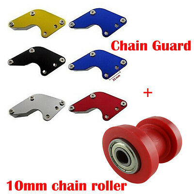 Chain Guard Guide + 10mm Red Chain Roller Dirt Pit Bikes Atomik Thumpstar