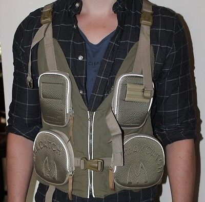 Christmas Gift Fly Fishing MaxCatch Tactical Stalking Waistcoat adjustable fit