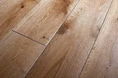 Engineered Natural Oak Brushed and Oiled Click Lok 183mm x 15/4mm Wood Flooring