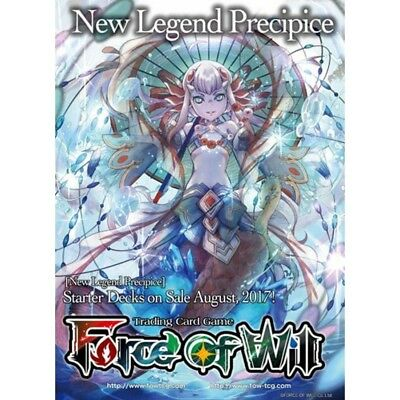 Force of Will TCG Reiya Clusters 1 Water Starter Deck Below the Waves Brand New