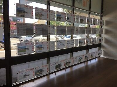 Perspex Cable Real Estate Window Display Plus Extras