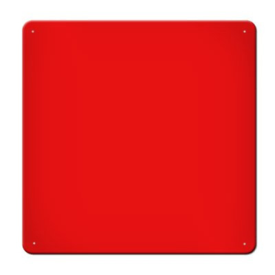 Magnet Board 16-Inch Red Square