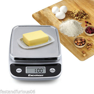 LCD Kitchen Scale Digital Commercial Shop Electronic Weight Scales Food 5KG WH