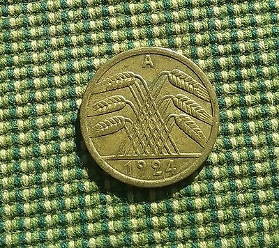 Germany 1924 A 50 pfennig Weimar Republic