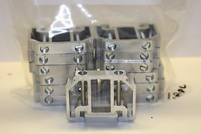 PHOENIX CONTACT TERMINAL BLOCK END CLAMP bag of 12 ALUMINUM