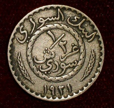 1921, 1/2 Piastre from Syria.  No Reserve!