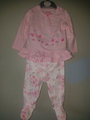 Mini B baby girl outfit 3-6mths