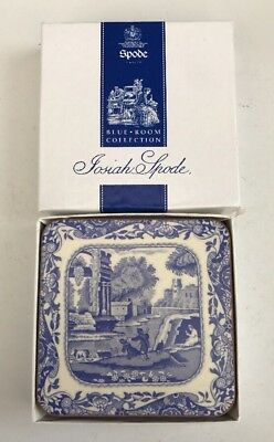 Spode Blue Room Collection Set Of 6 Coasters