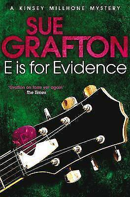 E is for Evidence by Sue Grafton (Paperback)