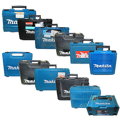 Makita Tool Drill Boxes: 13 Style (Multiple Power Handheld Storage Set Case Box)
