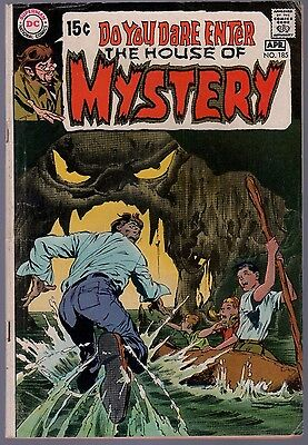 House of Mystery #185 VG / FN Neal Adams Cover Bronze Horror DC Comics 1970 SA