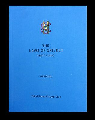 MCC Laws of Cricket 2017 Edition for Cricket Umpires, Scorers & Players