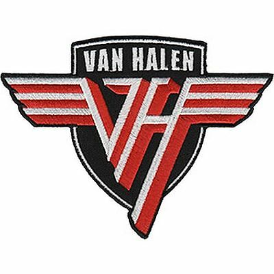 Van Halen - Shield Logo - Embroidered Patch - Brand New - Music Band 4538