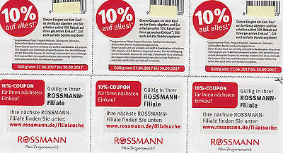 10rossmann 10 rabatt auf alles gutscheine g ltig vom 27 6 30 spar eur 1 00. Black Bedroom Furniture Sets. Home Design Ideas