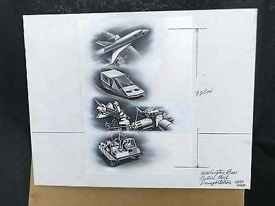Production Artwork - Future Mail Transportation