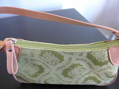2005 Betty Boop Green Purse / Handbag