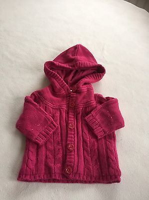 Baby Girls Clothes 3-6 Months - Cute Girl Knitted Jacket