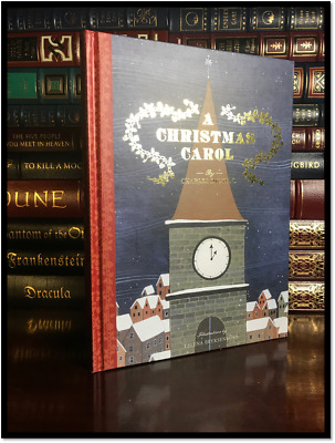 A Christmas Carol by Dickens New Illustrated Hardback Ribbon Marker Gift Edition