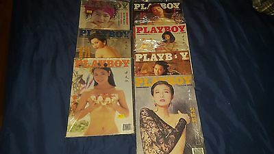 Playboy Magazine Lot Of 50 CHINESE Issues 1987-1993 Excellent condition