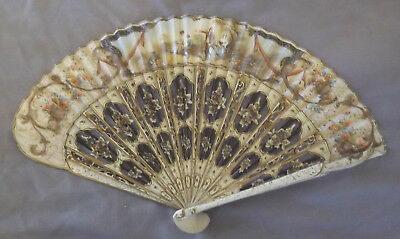 Antique Spanish / French Fan - 1850 to 1899
