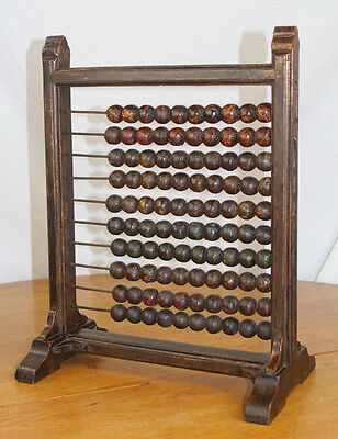 VTG Antique LARGE Abacus From the Basement of an Old Church