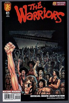The Warriors #1 Cover B Variant RARE! Very Fine Dabel Brothers Comics 2009 SFX