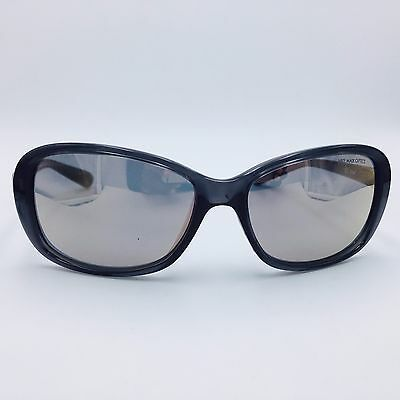 Nike Poise EV0885 001 Black Square Frame w/ Mirrored Gray Lenses