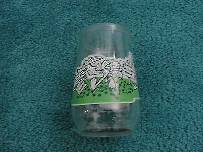1995 Welch's Looney Tunes Special Edition Jelly Jar Glass #3-Wile & Road Runner