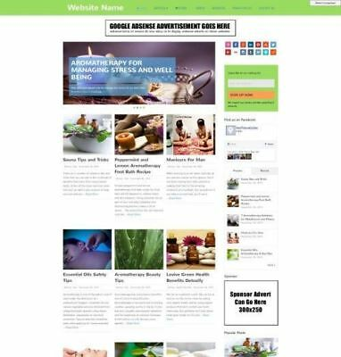 AROMATHERAPY SHOP - Website Business For Sale - Affiliate Website Business