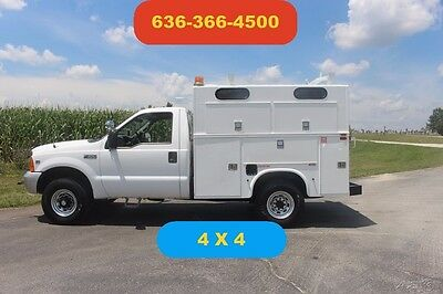 2000 Ford F350 4wd utility bed Used mechanic work kuv