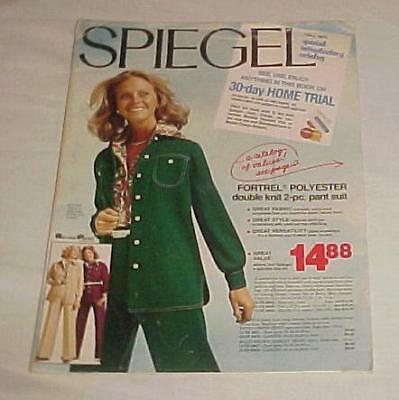 Vintage 1975 Spiegel Special Introductory Fall Sale Catalog