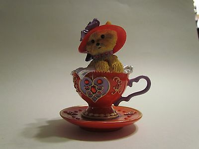 Yorkshire Terrier Hamilton Collection Flamboyant Personali-teas Collection