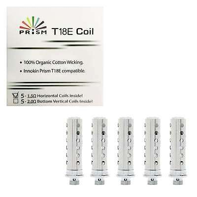 CHEAPEST Innokin Endura T18E Coil Replacement 1.5 ohm PACK OF 5