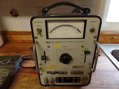 Hewlett Packard 3555B  Transmission & Noise Measuring Set